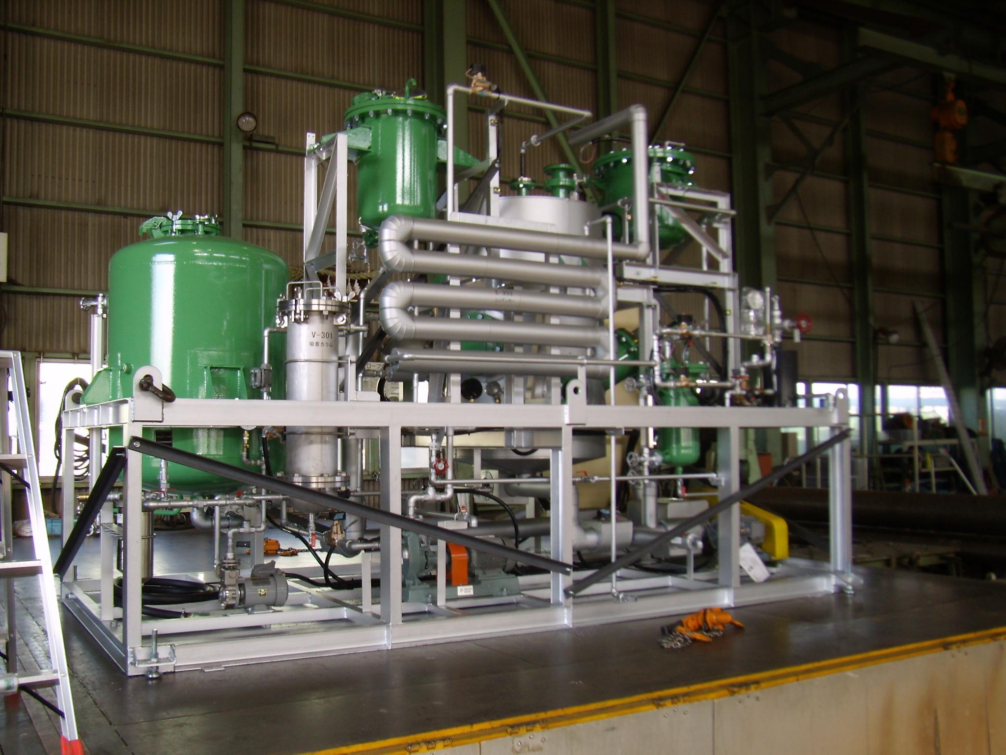 BDF(バイオ・ディーゼル・燃料)製造設備