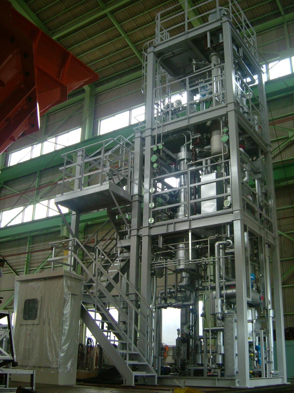 有機溶剤廃水処理装置