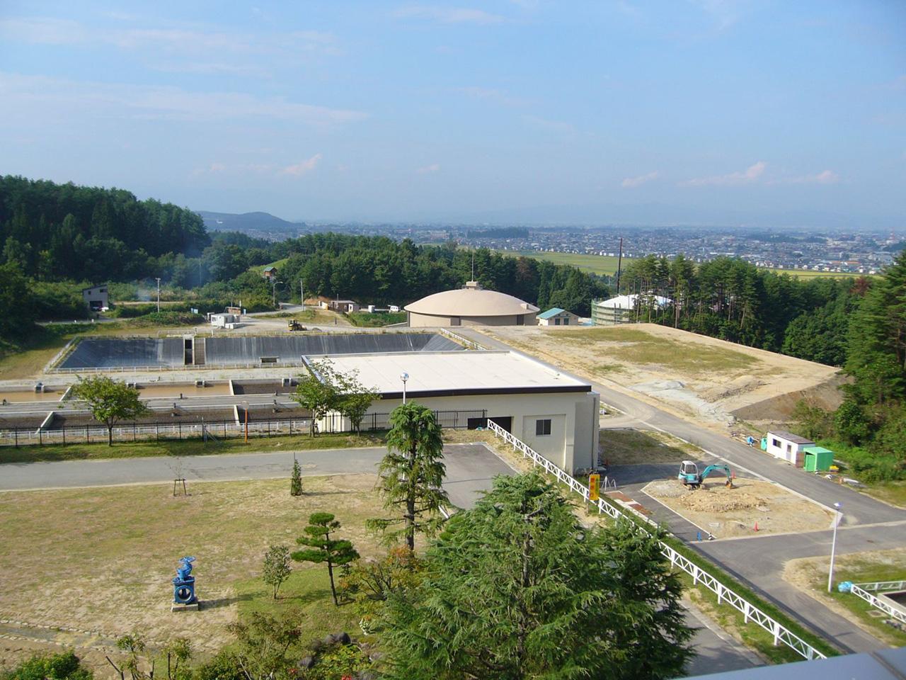 浄水場プラント電気設備