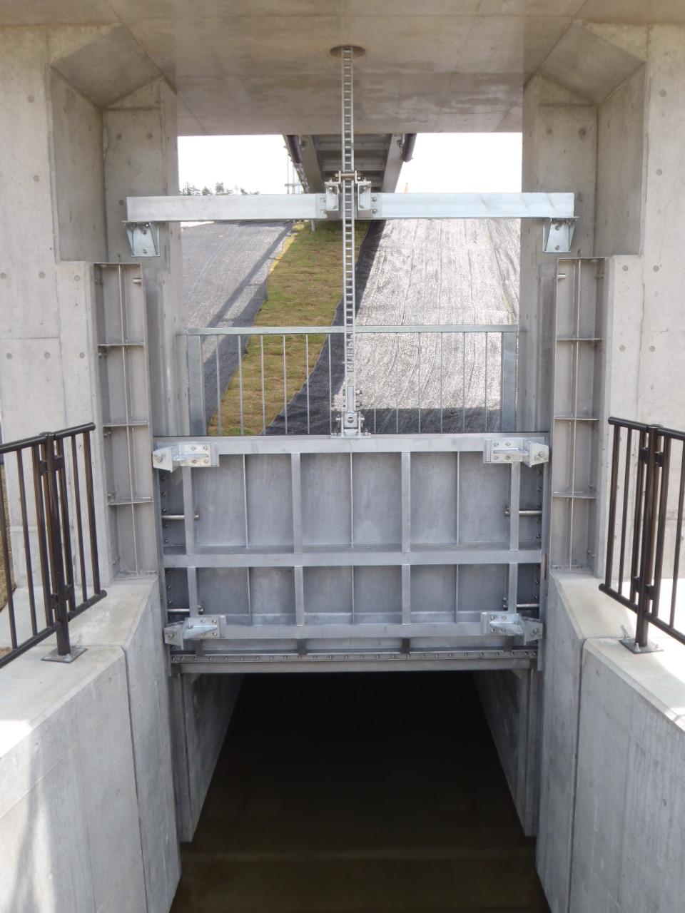森第二排水樋門