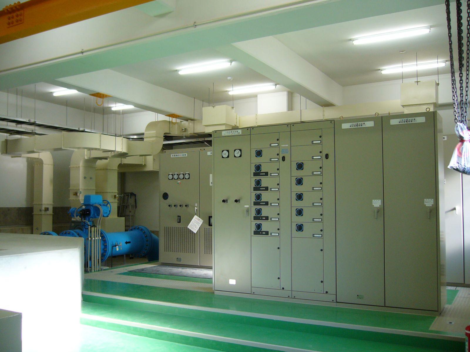 工場DCS・動力盤