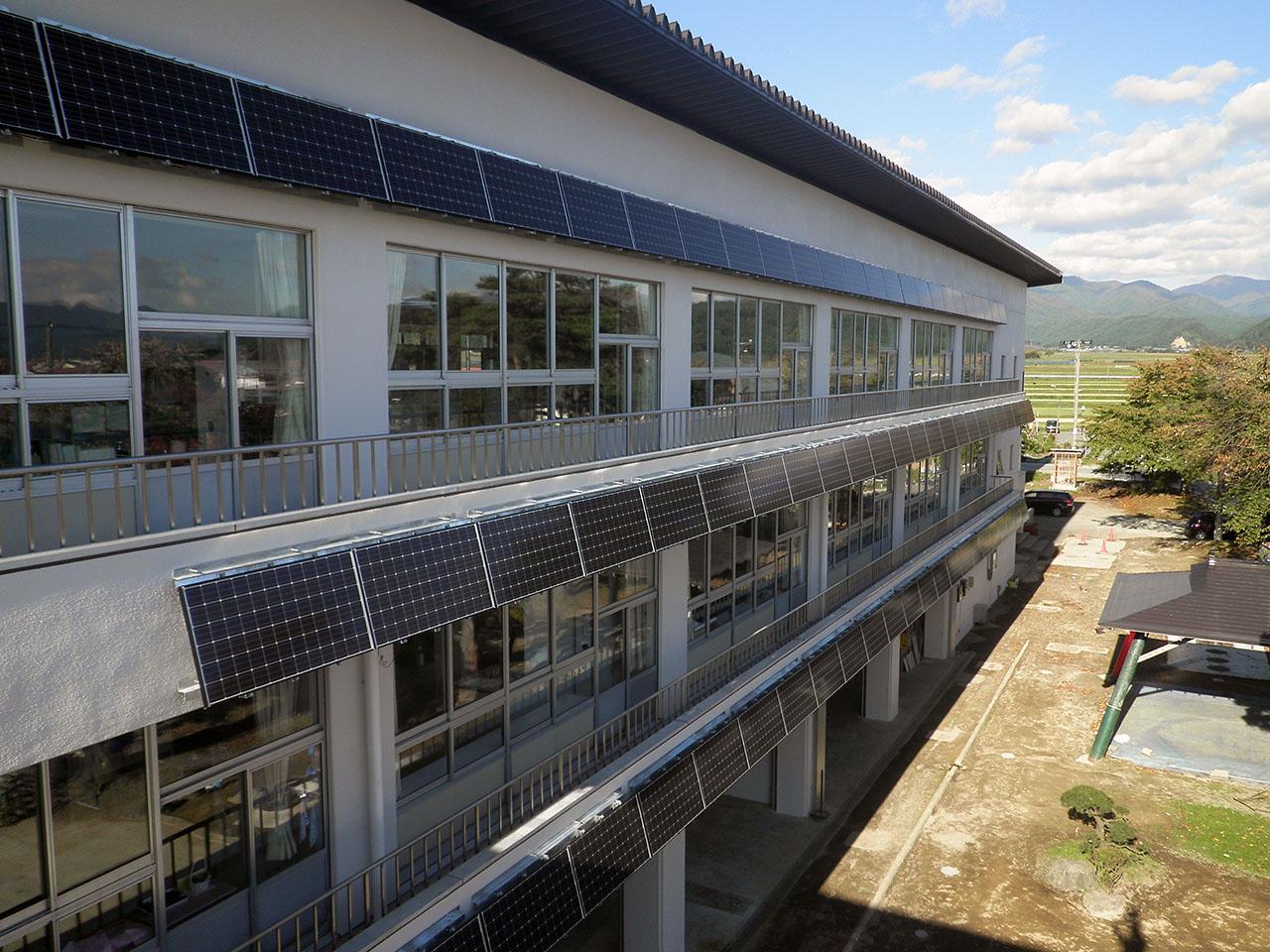 最上町立大堀小学校太陽光発電設備