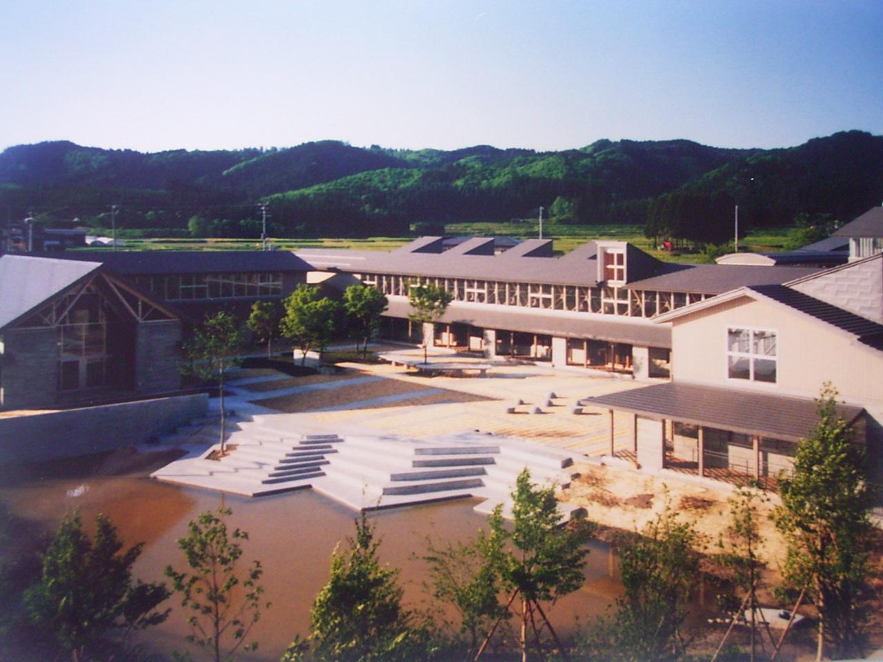 金山町立明安小学校校舎・屋内運動場 | 東北電機鉄工株式会社